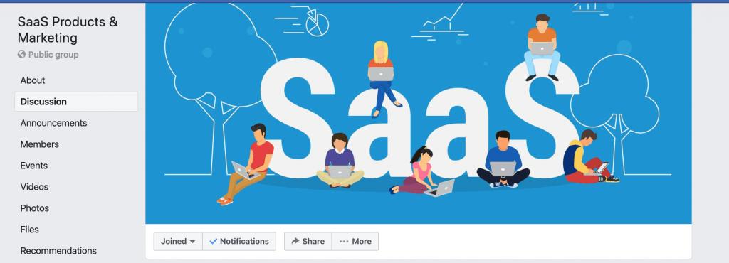 facebook groups for b2b saas